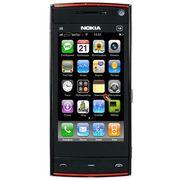 Nokia X6 (2SIM+JAVA+Wi-Fi+TV)черн,  бел