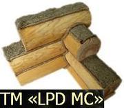 Реализуем натуральный межвенцовый войлок для стыков деревяного дама це