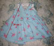 Платье детское на 12-18 мес.