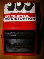 Продам педаль DOD SUPRA DISTORTION FX55C