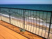 Продам земельный участок с недостроем на берегу моря