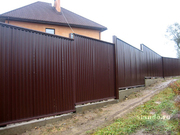 Заборы из профнастила в Хмельницком