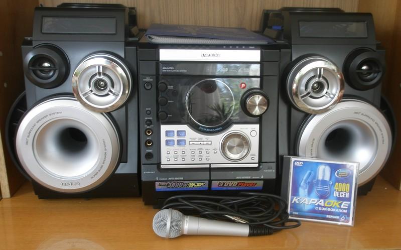 Продам  продам музыкальный центр с функцией караоке Samsung MAX-KT85 ... b07efc4d5c7