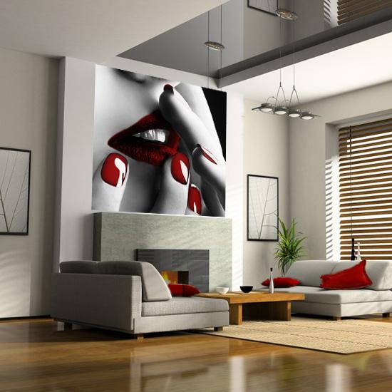 фотообои в интерьере квартиры: