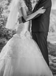 продам весільну сукню в дуже хорошому стані