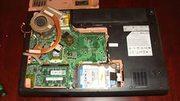 Продаю нерабочий  ноутбук  MSI VR630x