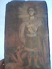 Продам старинную икону святого Георгия Победоносца