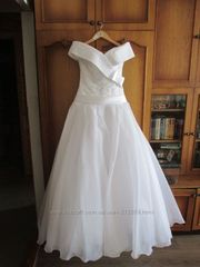 шикарное элегантное свадебное белое платье