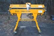 Гибочный станок для тонколистового металла Sorex ZRS 1160