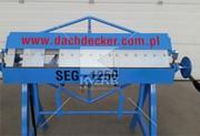 Листогиб сегментный Dachdecker SEG – 1250