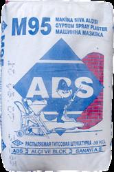 Гипсовая машинная штукатурка M-95 (ABS)