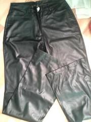 жіночі штани дермонтінові нові