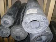 Техпластина  (резина листовая и рулонная) ТМКЩ