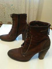 Продаю женские ботинки,  кожа,  отличное состояние!