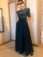 Шикарное вечернее нарядное платье